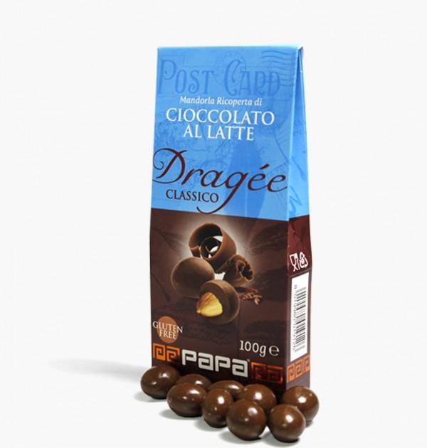 Papa Mandorla ricoperta cioccolato...